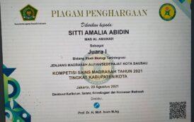 Santri Al-Amanah Mewakili Kota Baubau di Ajang KSM Tingkat Provinsi